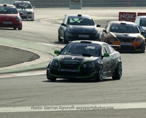 Pole sitter in both races, Mullan bags a first & second on the day